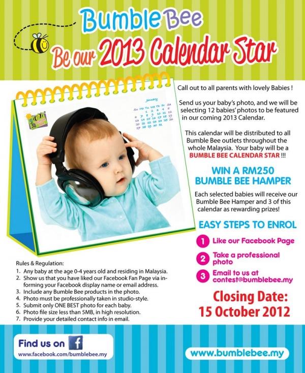 2013 Calendar Star Search